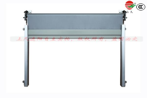 动车式窗框遮阳帘结构特性及安装方式